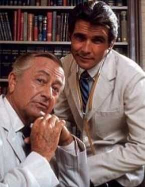 Marcus Welby, MD  Robert Young and James Brolin
