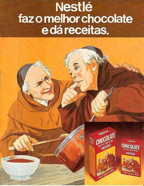 Propaganda Chocolate Nestlé by Luiz Fernando / Sonia Maria, via Flickr