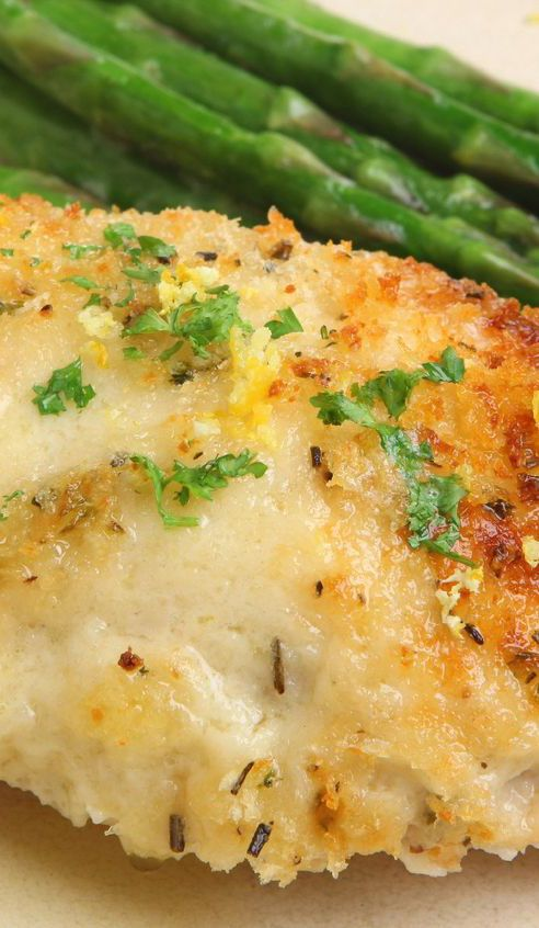 "Weight Watchers Melt in Your Mouth Chicken Breast Recipe - Moist and juicy with a crispy Parmesan cheese ""crust"". Simple 5 ingredient Recipe. Low Carb and Gluten Free - 5 Smart Points"