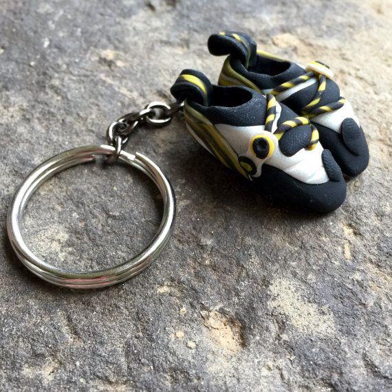 Fels klettern Schuh Schlüsselanhänger Custom und von HeelHooks