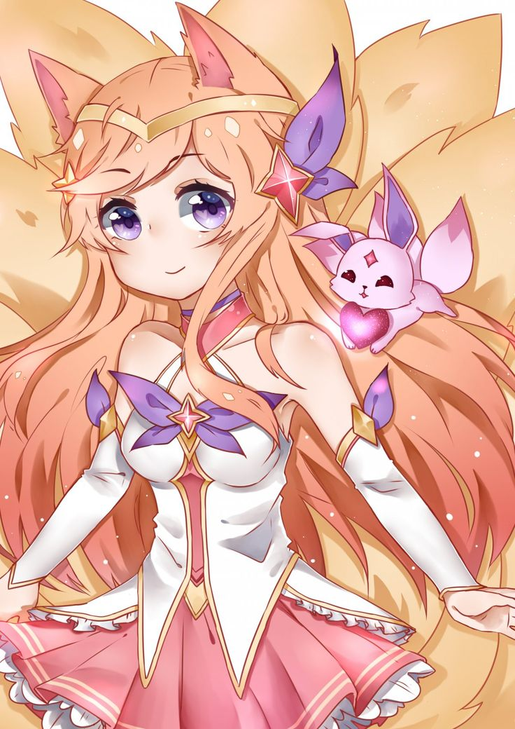 My recent Star Guardian Ahri drawing, I am very open to