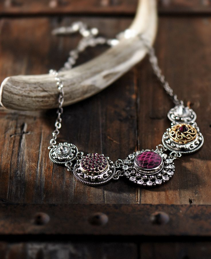 New Gingersnap statement necklace & beautiful new snaps - Ginger snap jewelry Summer/Fall 2014 - Stop in to our shop!