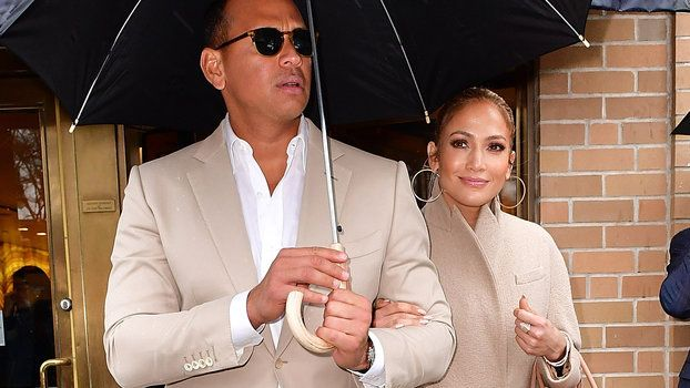 Jennifer Lopez and Alex Rodriguez Are Now Color-Coordinating Their Outfits