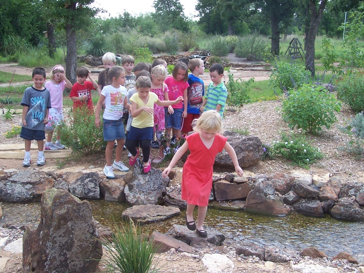 The GISD Schoolyard Habitat was established at Pioneer Elementary School at a Groundbreaking Ceremony in November 2006.