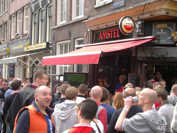 ... amstel flowed into the streets...