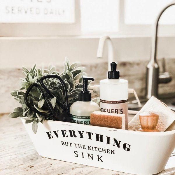 Everything But The Kitchen Sink Tray In 2020 Kitchen Styling