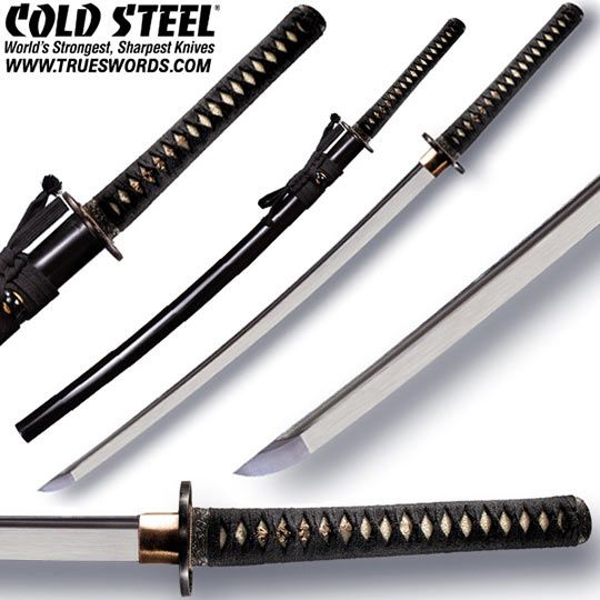 Cold Steel Battle Ready Warrior Katana 88BKW | True Swords