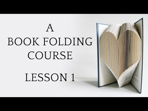 Love Book Folding | Book Folding Basics Explained