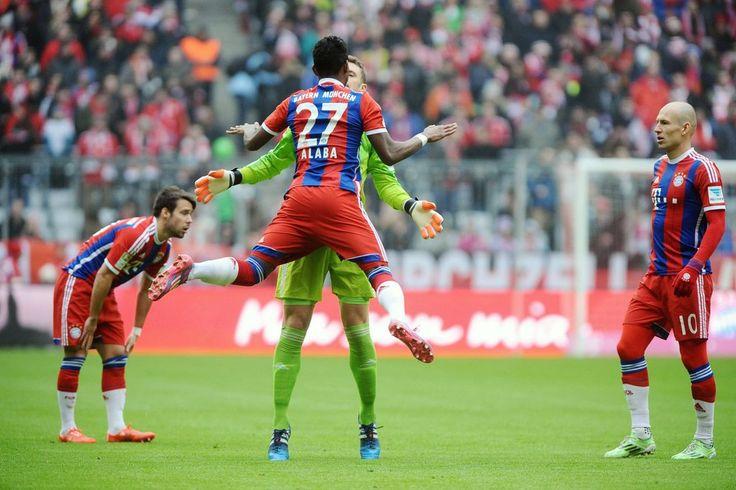 Die deutsche Bundesliga: Ergebnisse und Tabelle vom 21. Spieltag - LIVE http://web.de/magazine/sport/fussball/ergebnisse-tabelle-bundesliga/
