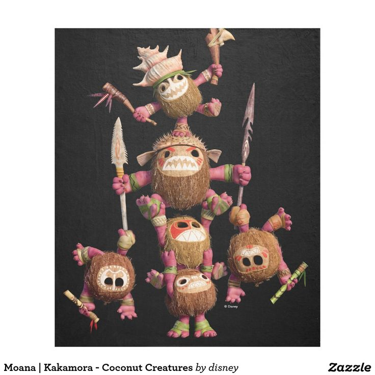 Moana | Kakamora - Coconut Creatures Fleece Blanket