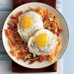 Chorizo Hash and Eggs: Brunch Menu, Brunch Recipes, Breakfast Things, Christmas Brunch, Chorizo Hash, Breakfast Recipe, Breakfastish Dishes, Eggs Brunch, Breakfast Brunch