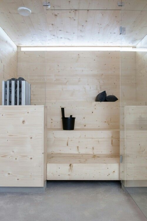 someday we'll have a sauna in our home