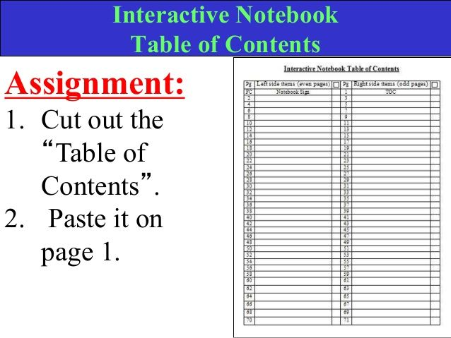 Best Interactive Notebooks Images On   Interactive