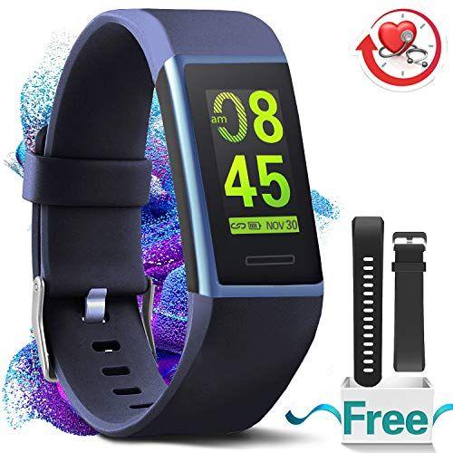 4e238dceb7 MorePro-Fitness-Armband-HR-Wasserdicht-Fitness-Tracker-Herzfrequenz ...