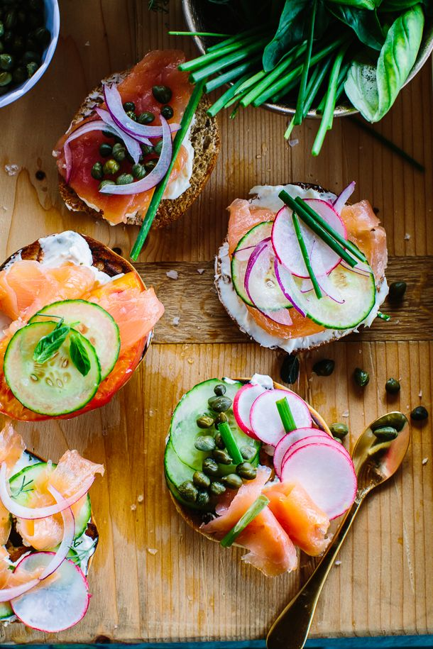 How to  Setup the Perfect Bagel Bar Source: camillestyles.com
