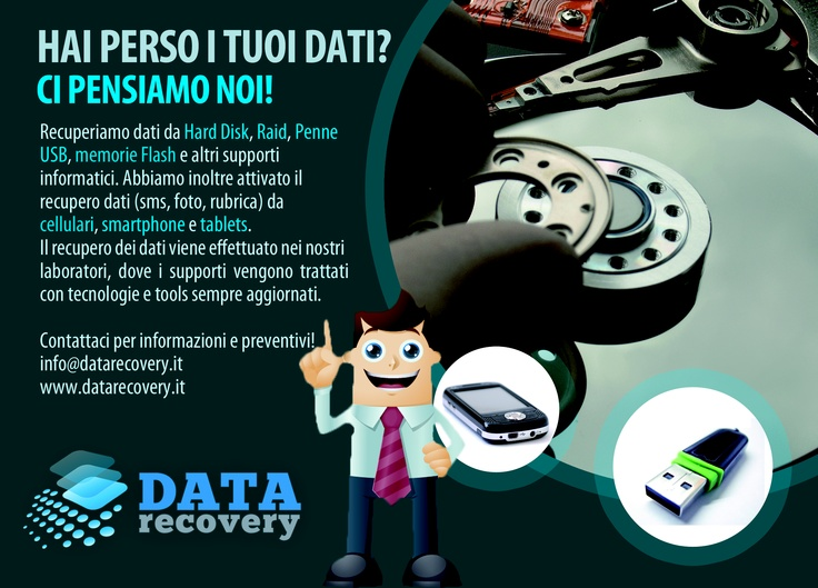 data recovery italy  recupero dati hard disk, raid, supporti usb, memorie flash, smartphone, iphone, tablets