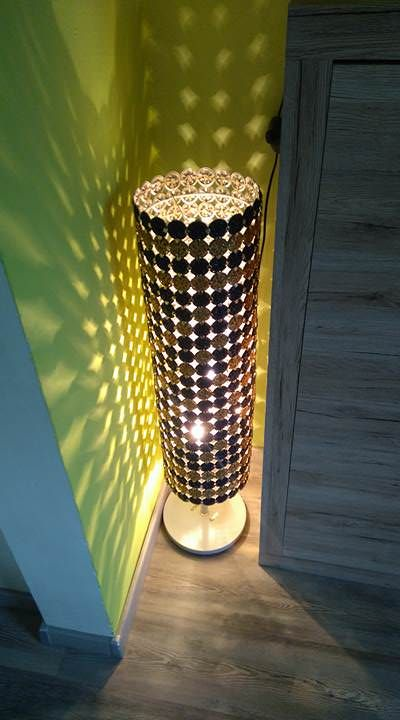 Used Nespresso Capsules Into Lamps