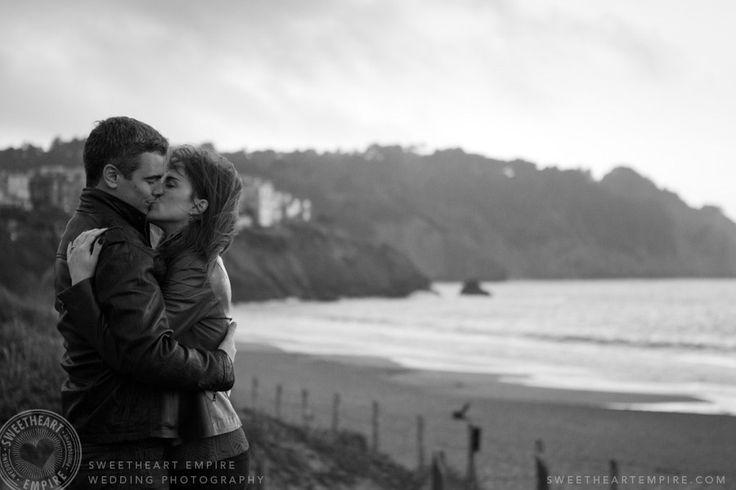 Baker Beach, San Francisco engagement photos #sweetheartempirephotography