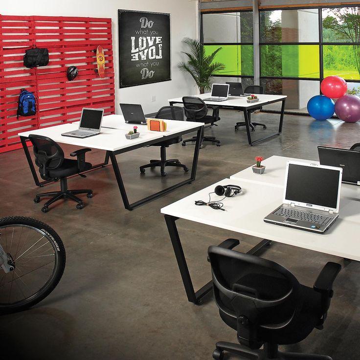Computer Furniture | Computer Desks U0026 Workstations | Paramount Open Office  Desk, Double Sided,