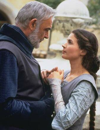 """""""For the first time in my life, I wanted what all wise men say can't last, what can't be promised or made to linger any more than sunlight.  I don't want to die without having felt its warmth on my face.""""  - Sean Connery as King Arthur in First Knight"""