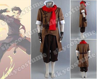 Avatar The Legend of Korra Mako Cosplay Costume | eBay