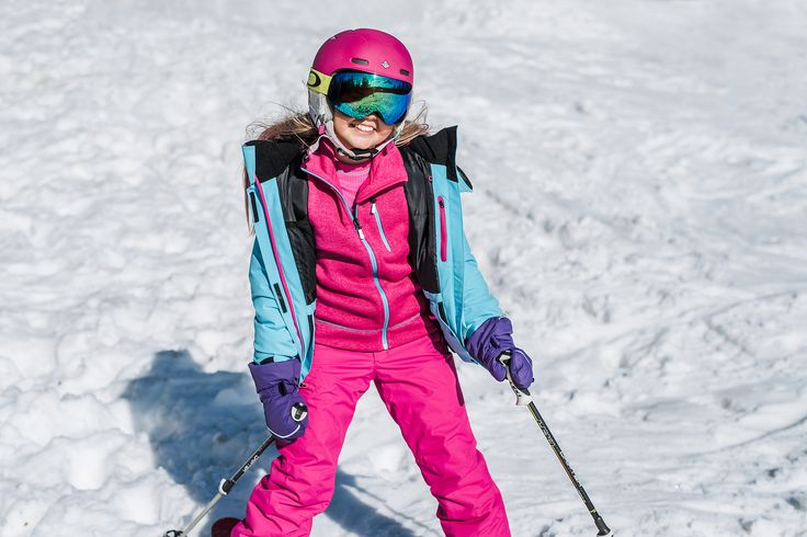 Dress your kid with different layers to keep out the cold during winter.