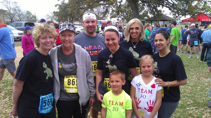 """Team Turtles"" with Jo Hewitt of ""Team Jo"" - what an amazing woman!"