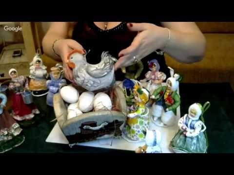 ватная игрушка курочка - YouTube