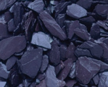 Slate Chippings - Blue