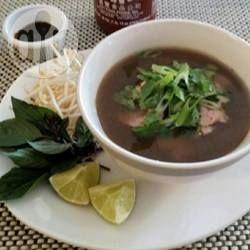 Pho vietnamita autêntico @ allrecipes.com.br