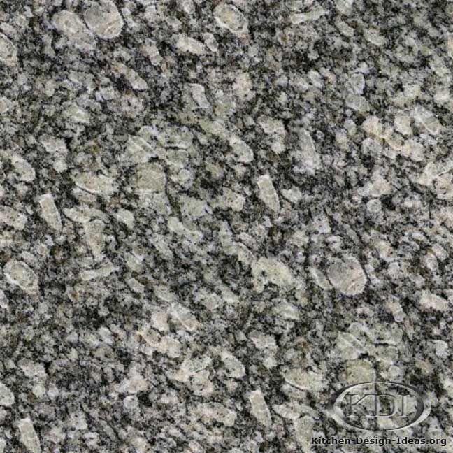 Grey Kitchen Granite: Grey Granite Countertops With White Cabinets