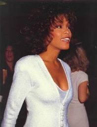 Whitney in dazzling white. rip