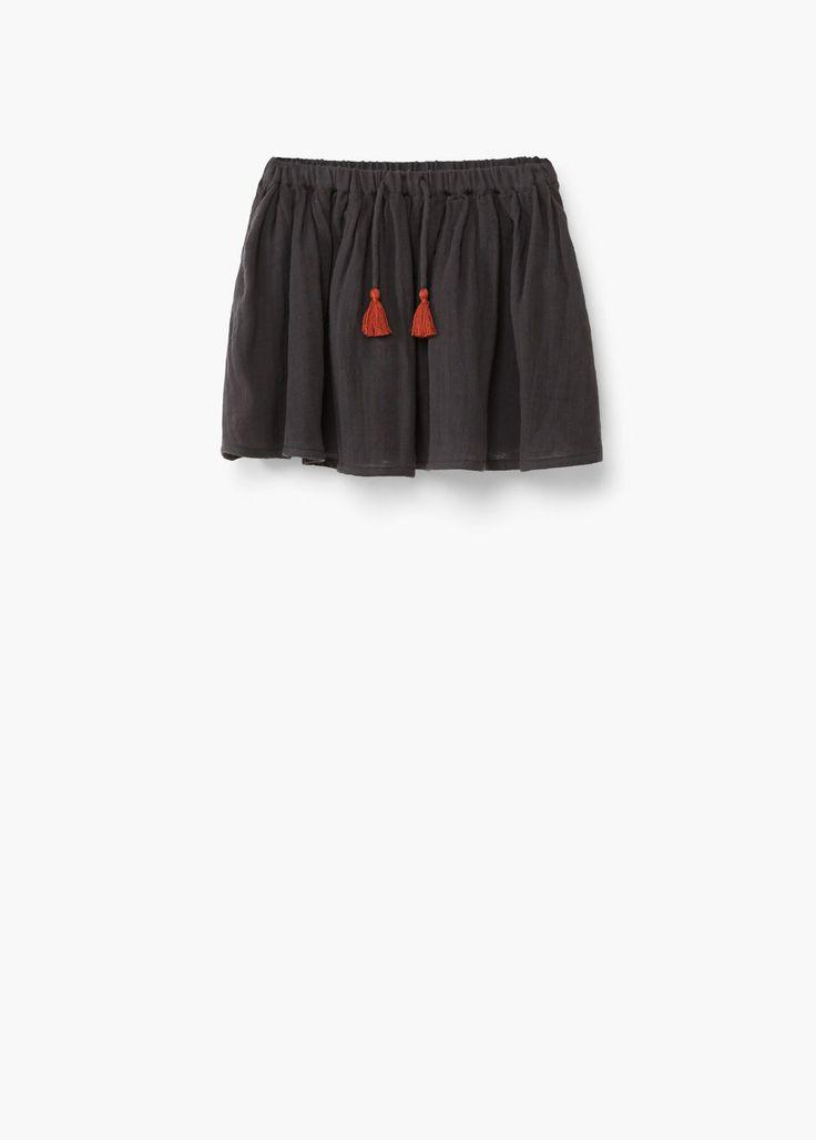 Cotton skirt   MANGO KIDS