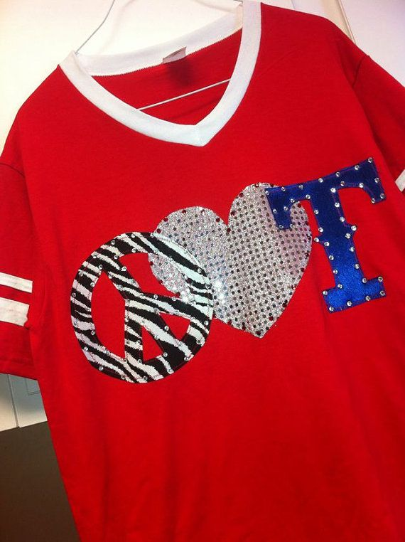 Texas Rangers Shirt by ThreadsToo on Etsy