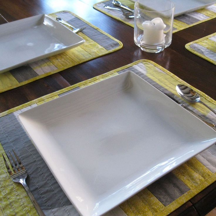 25 Best Ideas About Yellow Placemats On Pinterest