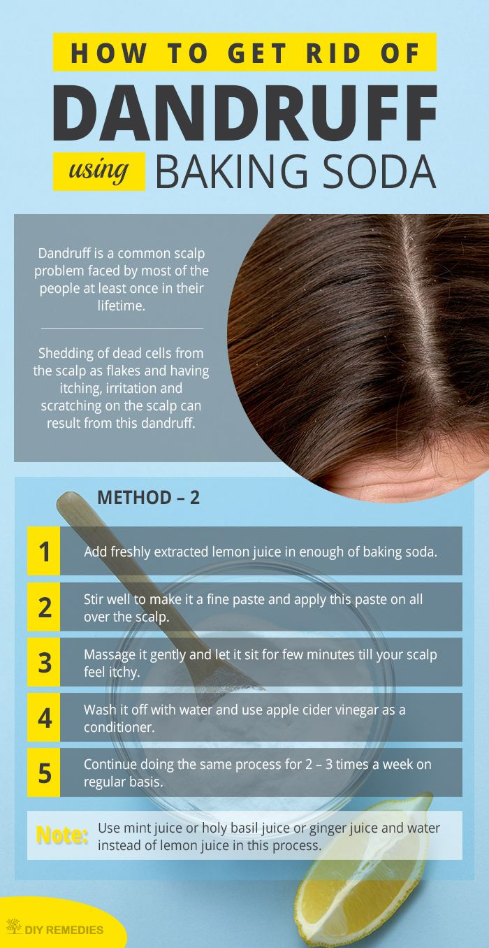 how to use baking soda for hair growth