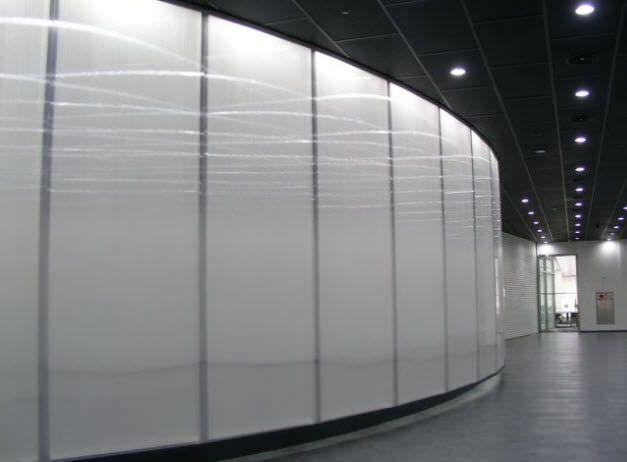 Polycarbonat-Platte für Trennwandsysteme - SELECTOGAL - POLYGAL