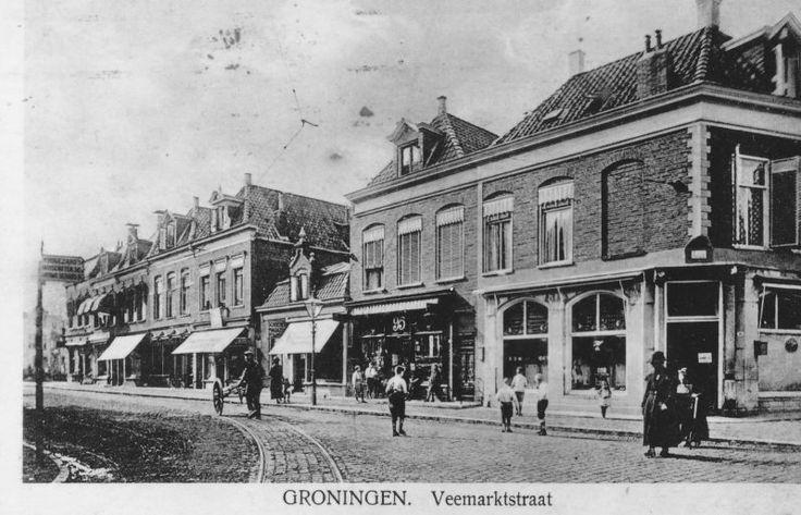historische foto's groningen - Veemarktstraat