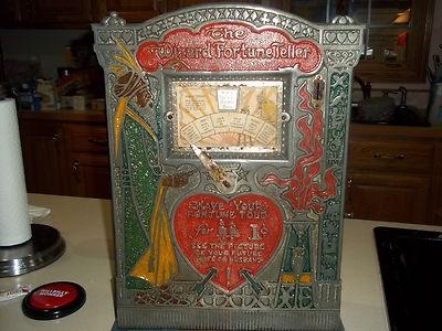 Antique Fortune Teller Machine | eBay