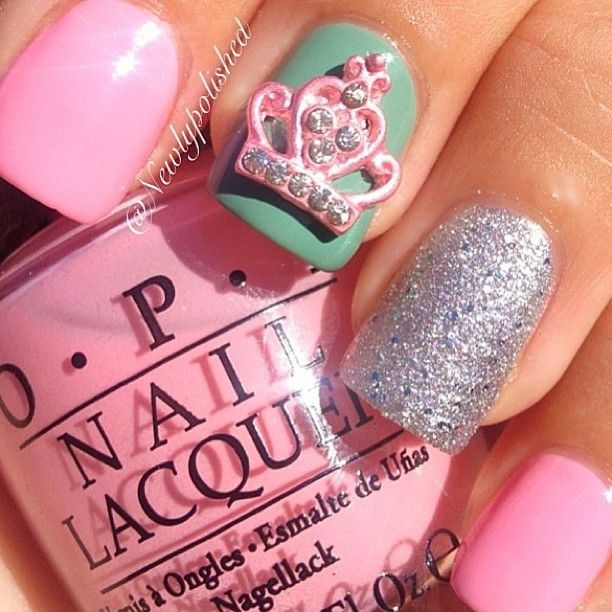 Nail designs - Best 25+ Crown Nail Art Ideas On Pinterest Crown Nails, Royal