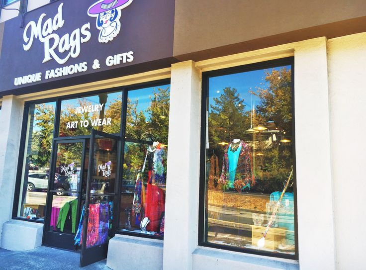 Mad rags clothing store