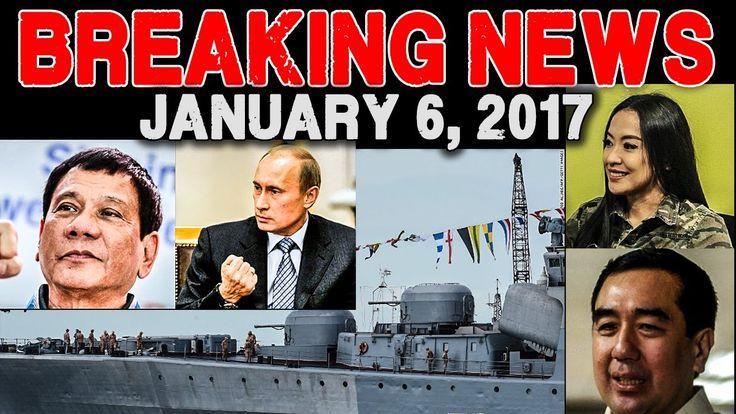 BREAKING NEWS TODAY! JANUARY 6 2017  PRES. DUTERTE l RUSSIA l MOCHA USON...