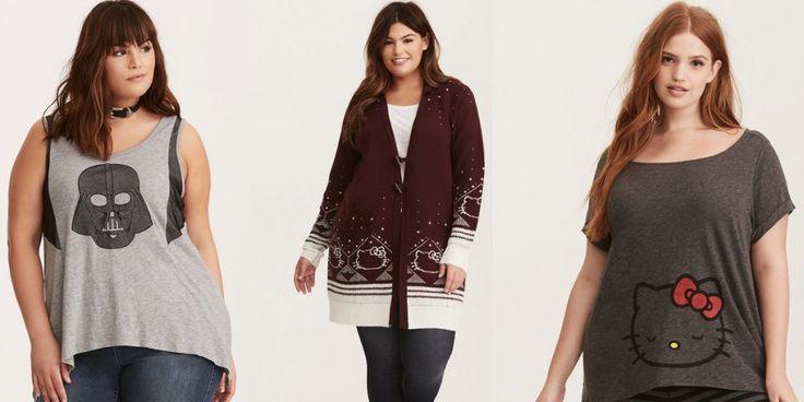 Modna odzież plus size nie może być nudna. Poznajcie kolekcje inspirowane popkulturą od Torrid