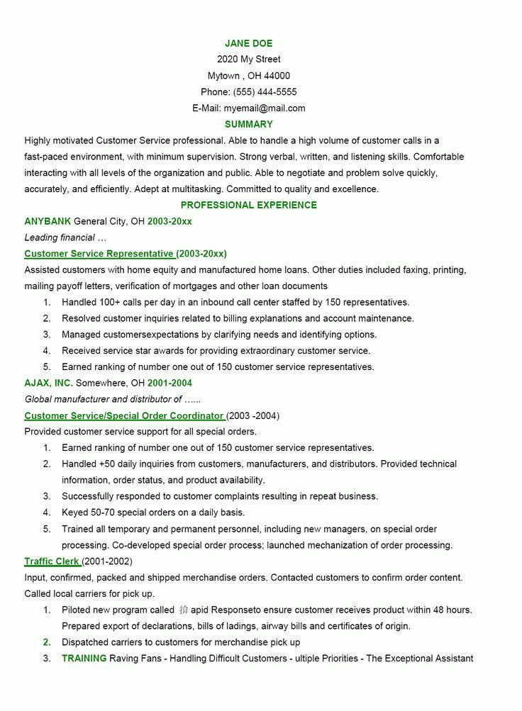 Les 25 Meilleures Idées De La Catégorie Good Resume Objectives Sur