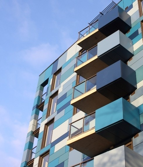 Sapphire balustrades regenerates housing with durability and style