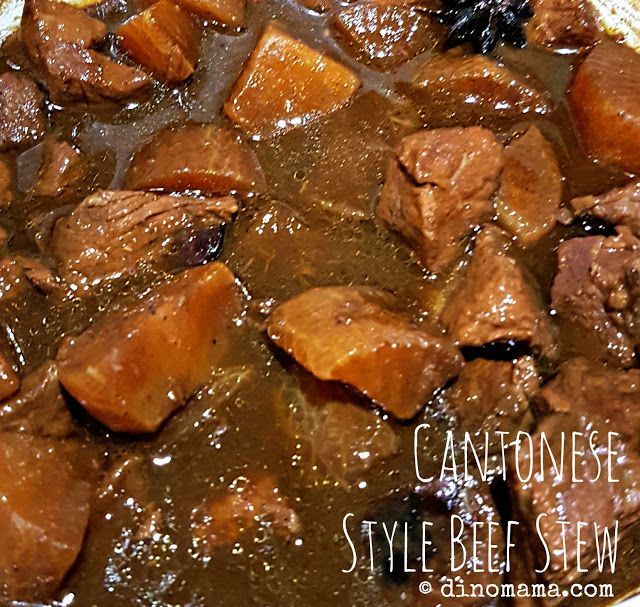 We are the DinoFamily 我們是恐龍家族: Cantonese Style Beef Stew