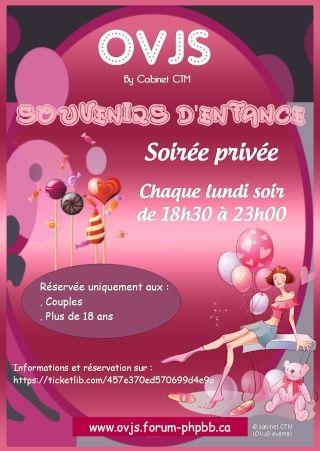 JET7 CLUB PARIS FRANCE vous invite à cette soirée http://jet7.generiques.tv/t65-souvenirs-d-enfance