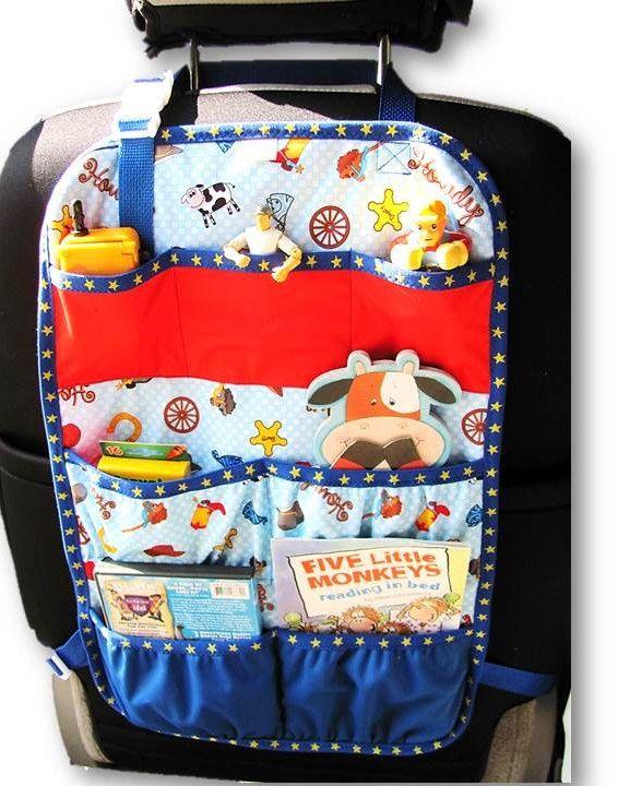 Aoso Kids Car Seat Organizer Extra Large Car Backseat Organizer