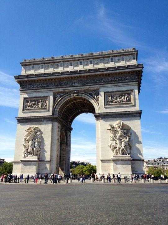 Arc de Triomphe in Paris, Île-de-France