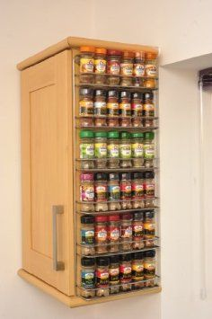 Large Wall Mount Spice Rack   Spice Rack From The Avonstar Classic Range.